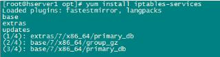 RAKsmart美国服务器CentOS7系统安装iptables方法